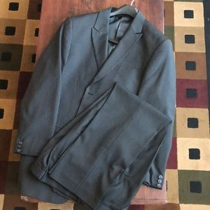 Perry Ellis Pin Striped City fit suit